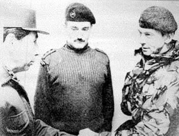 las tropas argentinas se rindieron ante las inglesa