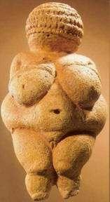 escultura venus de Willendorf, madre