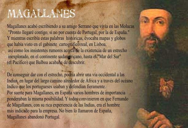 Curiosidades de la Historia - Magallanes Descubre el estrecho