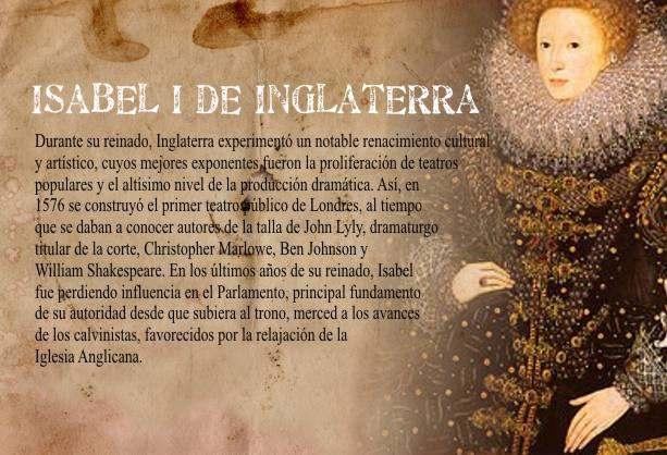 Lucha Reina Isabel I de Inglaterra contra el Catolicismo