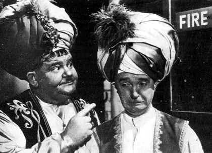 Stan Laurel y Olí ver Hardy