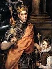 Luis IX de Francia Rey Santo que Dirigio las Cruzadas
