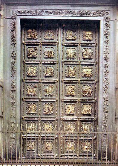 Puerta Harte del Baptisterio de Florencia (1403-1424)